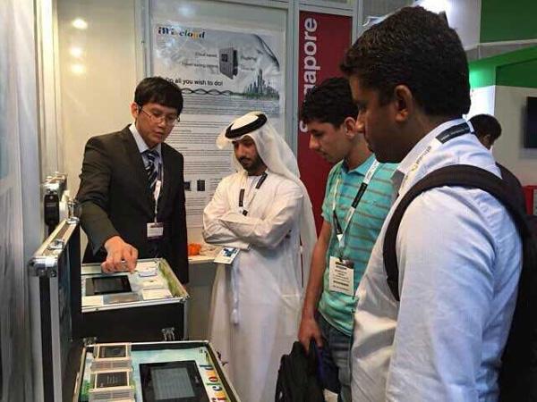 2014年迪拜Gitex展会
