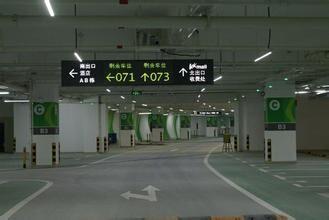 系统能多维度输出停车场位利用图形形化报表